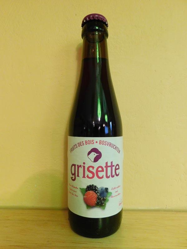 Grisette Fruits des Bois 25cl.