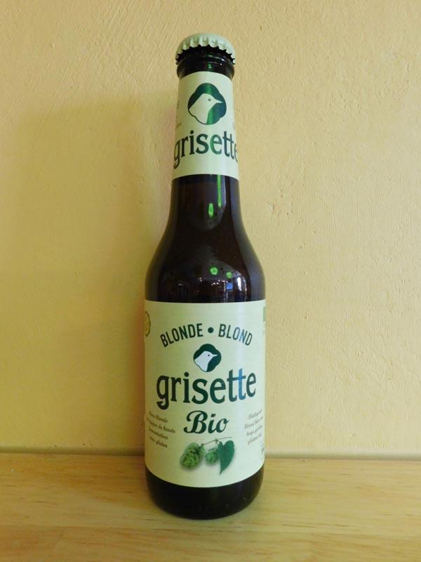 Grisette Blonde Bio Sans Gluten 25cl.