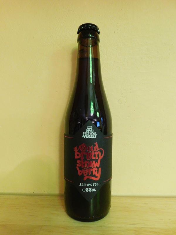 Verzet Oud Bruin Strawberry 33cl.
